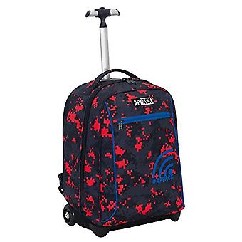 Big Trolley Appack - NEW GEN - Red Black - 35 Lt - 2in1 Return Shoulder Backpack - School & Travel