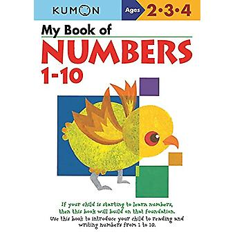 My Book of Numbers 1-10 by Publishing Kumon - 9780999878712 Book
