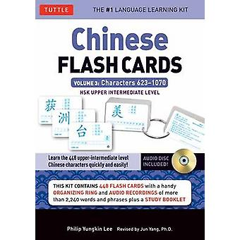 Chinese Flash Cards Kit Volume 3 by Lee & Philip Yungkin