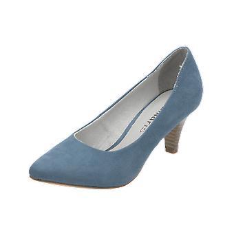 Tamaris Da.-Pumps Damen Pumps Blau High-Heels Stilettos Absatz-Schuhe
