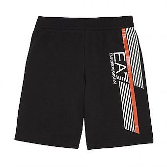 EA7 Boys EA7 Boy's EA7 Black Shorts