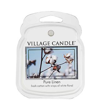 Village Candle Wax Melt Packs For Use with Melt Tart & Oil Pure Linen