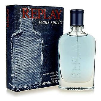 Replay - Jeans Spirit! pour lui - Eau De Toilette - 75ML