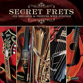 Secret Frets: Jim Shearer & Friends With Strings [CD] USA import