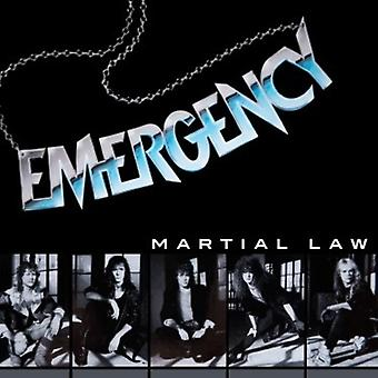 Emergency - Martial Law [CD] USA import