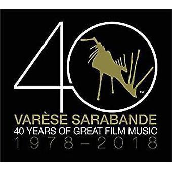Various Artist - Varese Sarabande: 40 Years of Great Film / Var [CD] USA import