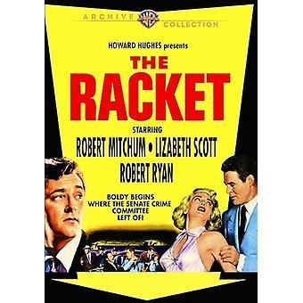 Raquete (1951) [DVD] EUA importar