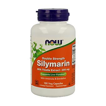 Silymarin 2x300mg Standardized Milk Thistle 80% Silymarin + Ext. Of Dandelion and Artichoke 100 capsules