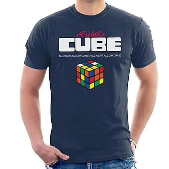 Rubik ' s all night all day Game mannen ' s T-shirt