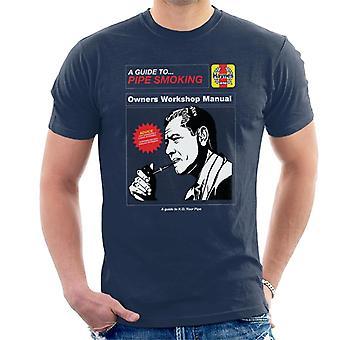 Haynes Pipe Smoking Workshop Manual Men's Camiseta