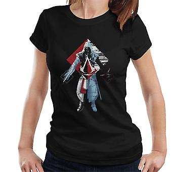 Assassins Creed Deconstruct Ezio Women's T-Shirt