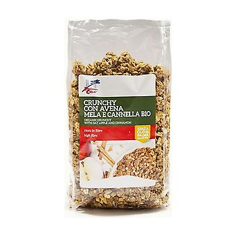 Crunchy With Oatmeal, Apple and Cinnamon 375 g