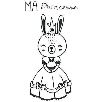 Aladine Rubber Samp Ma Princesse