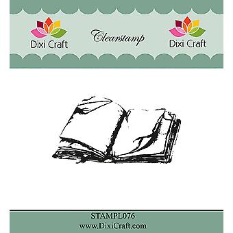 Dixi Craft Old Book Clear Stamp