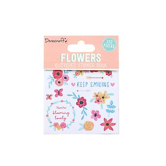 Dovecraft Flowers Sticker Book