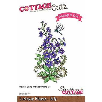 Sloop Cottage CottageCutz Larkspur Flower - juli