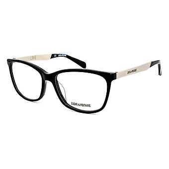 Unisex'Spectacle frame Zadig & Voltaire VZV126-700K (ø 54 mm)