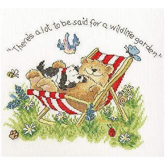 Bothy Threads Cross Stitch Kit - Wildlife Garden