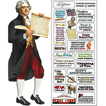 Stationery - Jefferson - Card and Sticker Sheet New 0575