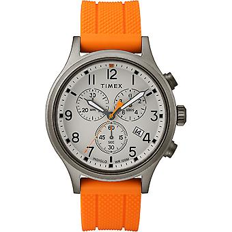 TW2R67300, Military Allied Field Metal Analog Elevated Mens Watch / Grey