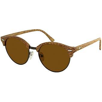 Sunglasses Unisex light brown (AZB-046)