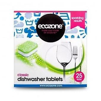 Ecozone - Classic Dishwasher Tablets 25 tablet