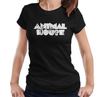 Animal House Blanco Logo Mujer's Camiseta