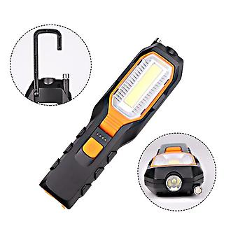 Cob Led Worklight, Usb Rechargeable Power, Flexible Magnetic Inspection Lamp