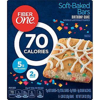 Fiber 1 70 kalórií narodeniny Cake Bar