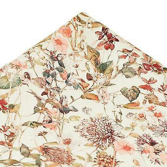Solmiot Planet Van Buck Norsunluu kukka tasku neliö nenäliina valmistettu Liberty Kangas
