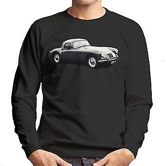 MG Side View British Motor Heritage Men's Sweatshirt