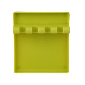 Plastic Spatula Pad 5.7x5.1x1.9inch Green