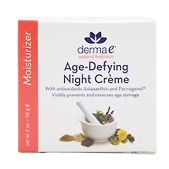 Derma e Astazanthin & Pycnogenol Night Creme, Age Defying Moisturizer, 2 oz