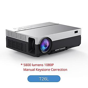 T26l/t26k 1080p Led Full Hd Proyector De vídeo Beamer 5800 Lumen Fhd, 3d Home