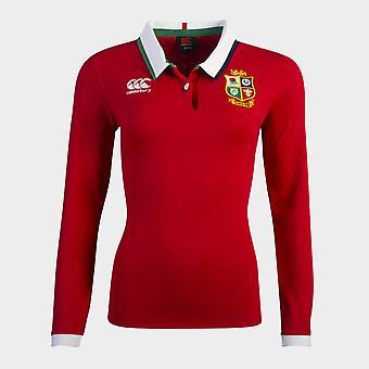 Canterbury Britse en Ierse Lions Long Sleeve Classic Shirt 2021 Dames