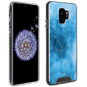 Back Cover Galaxy S9 printed Constellation Pegasus Made In France Shockproof