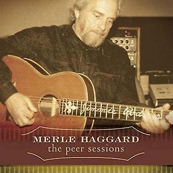 Merle Haggard - Peer sesiones [CD] USA importar