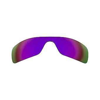 Lenti di sostituzione polarizzate per occhiali da sole Oakley Oil Rig Anti-Scratch Purple