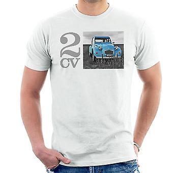 Citro n 2CV Meadow Valokuva Men's T-paita