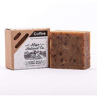 Kávové mýdlo