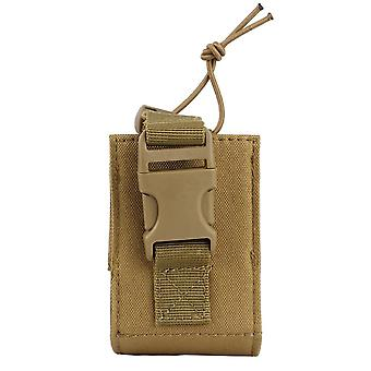Tactical Molle Walkie Talkie Pouch, Interphone Storage Bag Outdoor Radio