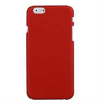 PC beskyttende sak dekke hardt tilbake for Apple iPhone 6 rød