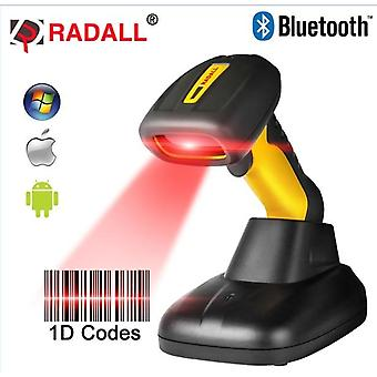 Radall H Wireless Scanner Wired 1d/2d Qr Barcode Reader Wireless Barcode