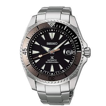 Seiko SPB189J1 Prospex Shogun Black & Silver Titanium Automatic Diver's Men's Watch