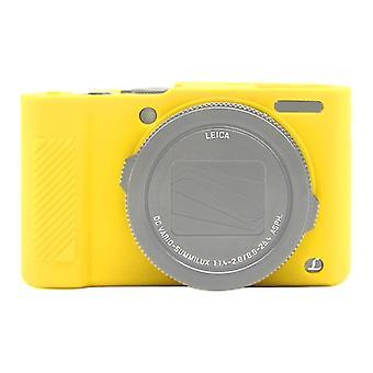 PULUZ Soft Silicone Protective Case for Panasonic Lumix  LX10(Yellow)