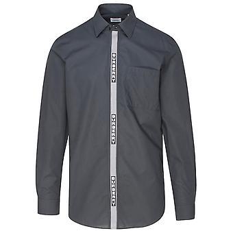 Burberry 8036118a8541 Men's Zwart Katoenen Shirt