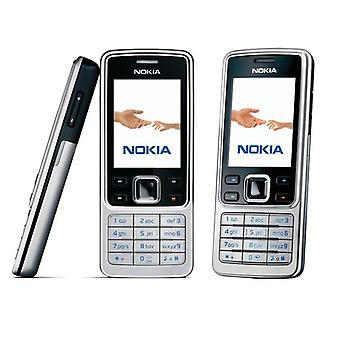 Original Nokia Mobile Phone Unlocked Black Cellphone & Russian Arabic Hebrew