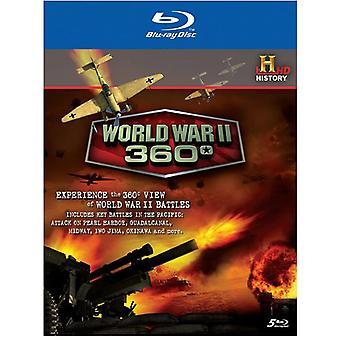 World War 2 360 [BLU-RAY] USA import