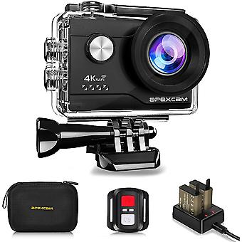 4K Action Camera 20MP 40M Waterproof Sports Camera for Vlog With Ultra HD