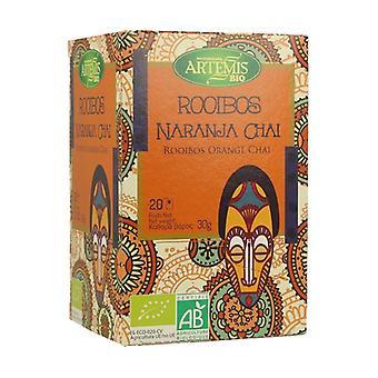 Rooibos Orange Chai Tea 20 yksikköä